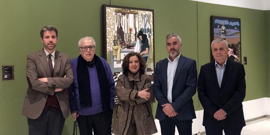 Chicano expone en Ars Málaga 30 obras que resaltan su amor por el flamenco