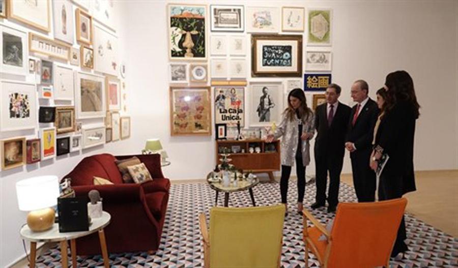 Colecciones privadas malagueñas se descubren en la muestra El jardín secreto