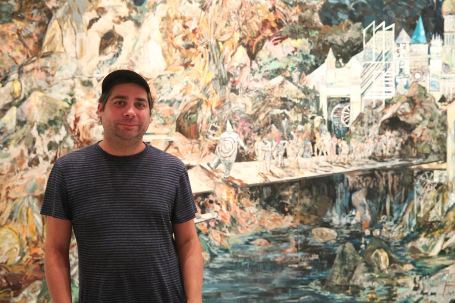 Los paisajes de Hernan Bas llegan por primera vez a España con 36 obras expuestas en el CAC